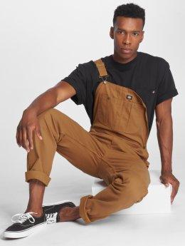 Dickies Nohavice na traky Bacova hnedá