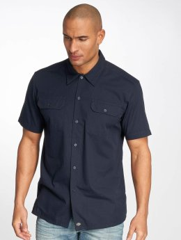 Dickies overhemd Talpa blauw