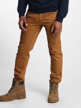 Dickies Slim Fit -farkut Mens Flex Tapered ruskea