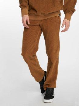 Dickies Spodnie wizytowe WP873 Cord brazowy