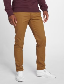 Dickies Stoffbukser Slim Fit Work brun