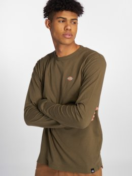 Dickies T-Shirt manches longues Round Rock olive