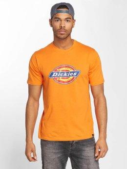 Dickies t-shirt Horseshoe oranje