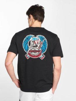 Dickies t-shirt Midfield zwart