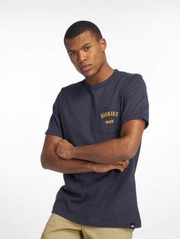 Dickies T-Shirty Pamplin niebieski