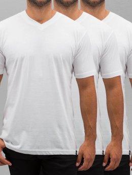 Dickies T-skjorter V-Neck 3er-Pack hvit