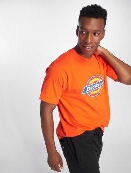 Dickies T-skjorter Horseshoe oransje