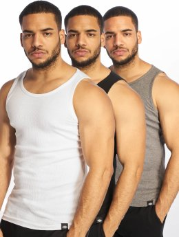 Dickies Tank Tops Proof Multi Color 3er-Pack bialy