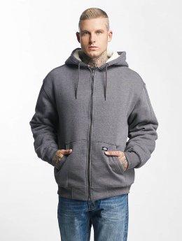 Dickies Zip Hoodie Sherpa Fleece grau