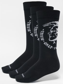 Diesel Chaussettes Skm-Ray 3-Pack noir