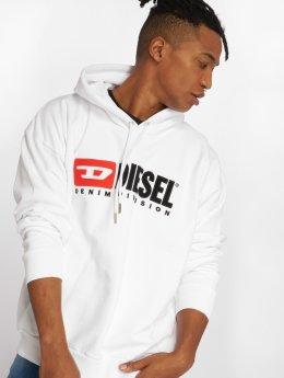 Diesel Hoodies S-Division hvid