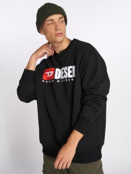 Diesel Jersey S-Crew-Division negro