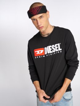 Diesel Longsleeve T-Just-Ls-Division zwart