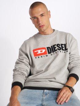 Diesel Pullover S-Crew-Division grau
