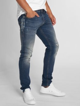 Diesel Slim Fit Jeans Thommer modrá