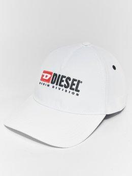 Diesel Snapback Caps Cakerym-Max hvid