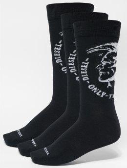 Diesel Socken Skm-Ray 3-Pack schwarz