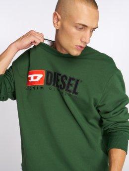 Diesel Svetry S-Crew-Division zelený