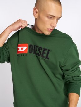 Diesel Swetry S-Crew-Division zielony