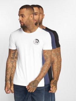 Diesel T-Shirty Umtee-Randalt 3-Pack niebieski