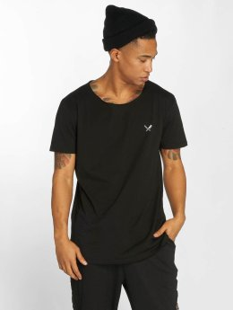 Distorted People Camiseta Cutted negro