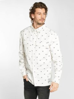 Distorted People Chemise People Allover Blades blanc