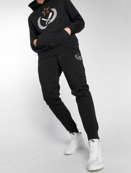 Distorted People Sweat Pant Russia black