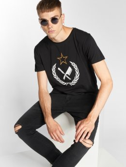 Distorted People T-skjorter Russian Blades Grand svart