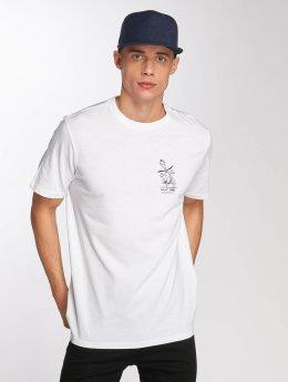 Djinns T-paidat Happy valkoinen