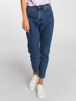 Dr. Denim High Waist Jeans Nora Mom blau