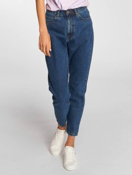 Dr. Denim High Waisted Jeans Nora Mom blu