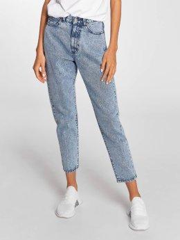 Dr. Denim Jeans de cintura alta Nora Mom azul