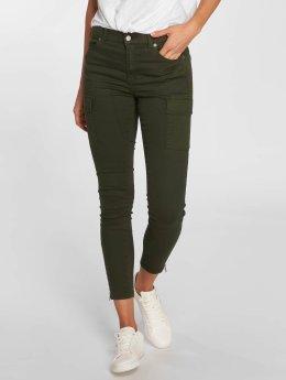 Dr. Denim Skinny Jeans Dezie oliwkowy