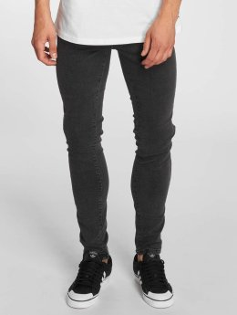 Dr. Denim Slim Fit Jeans Snap nero