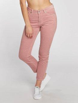 Dr. Denim Spodnie sztruksowe Pepper Corduroy pink