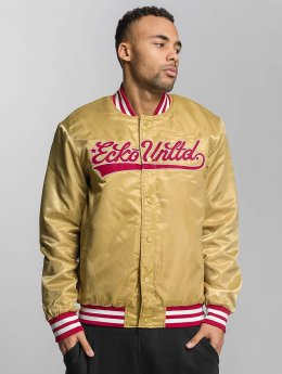 Ecko Unltd. Bomber jacket Shinning Star gold colored