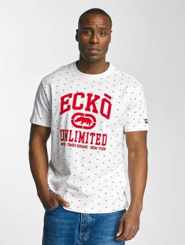 Ecko Unltd. Camiseta Everywhere are Rhinos blanco