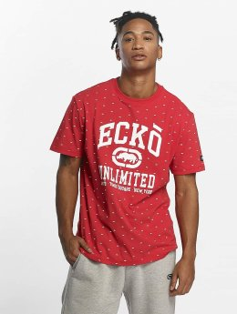 Ecko Unltd. Camiseta Everywhere are Rhinos rojo