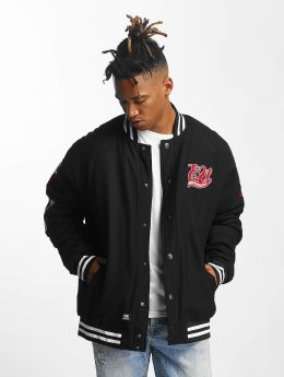 Ecko Unltd. College Jacke Big Logo schwarz