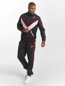 Ecko Unltd. First Avenue Sweat Suit Black Burgundy