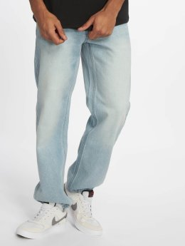 Ecko Unltd. Jean large Globe Grid Loose Fit bleu