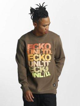 Ecko Unltd. Pullover Fuerteventura brown