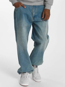 Ecko Unltd. Spodnie Baggy Gordon B niebieski