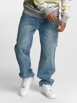 Ecko Unltd. Spodnie Baggy Camp's B Baggy Fit niebieski