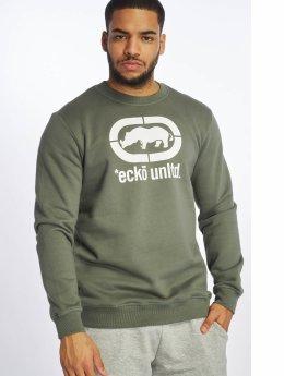 Ecko Unltd. Swetry Base oliwkowy
