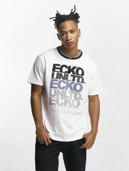 Ecko Unltd. T-paidat Fuerteventura valkoinen