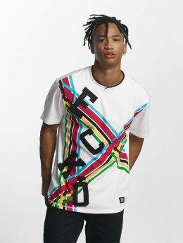 Ecko Unltd. T-Shirt Tour d'Àfrique blanc