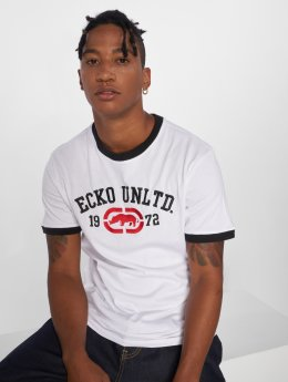 Ecko Unltd. T-Shirt First Avenue blanc