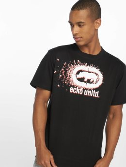 Ecko Unltd. T-Shirt Dispersion noir