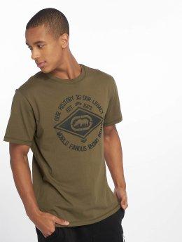 Ecko Unltd. t-shirt Inglewood olijfgroen
